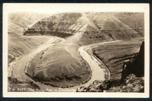 The Horseshoe - Deschutes River