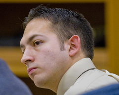 Jesse Bratcher at his trial