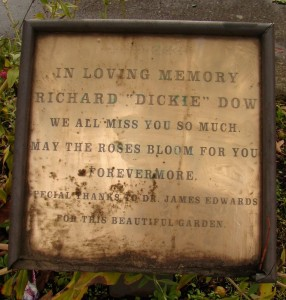 Memorial for Dickie Dow