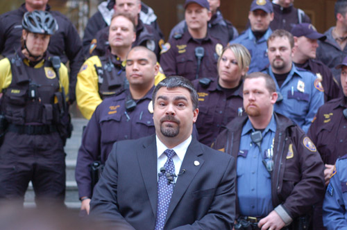 WESTERMAN: OUTRAGED ON BEHALF OF THE POLICE UNION