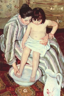 The Bath, by Mary Cassatt