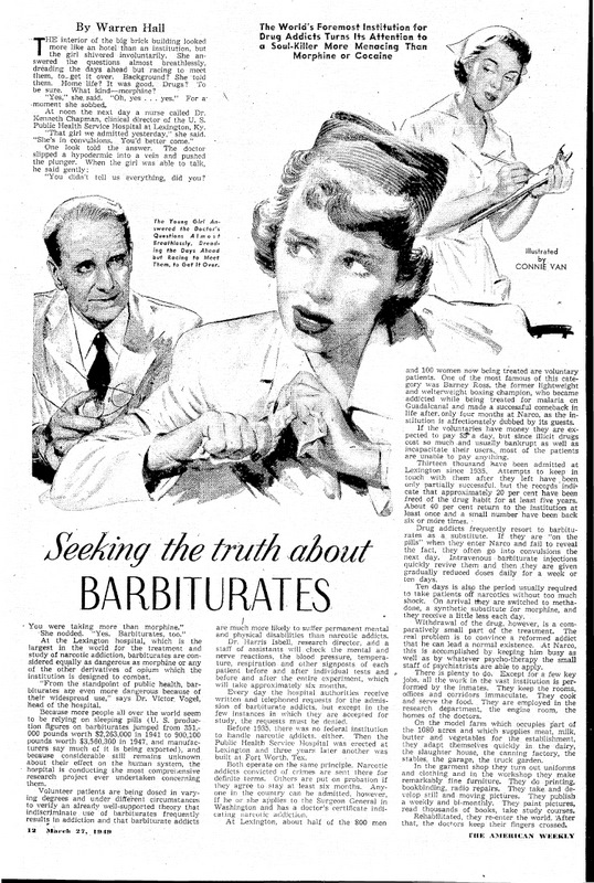 Seeking the truth about barbiturates