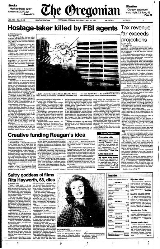 Oregonian May 16, 1987