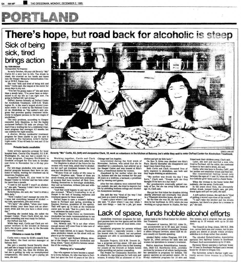There's hope, but road back for alcoholic is steep