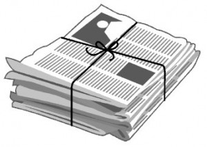 Clipart Newspaper