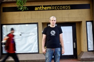 Drug use and dealing in front of the store pushing Anthem Records out of Old Town into Northeast Portland. Owner Jon Klote said he relocated because he believes the crime issues in Old Town scare off customers.