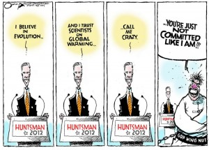 Editorial Cartoon by Jack Ohman of The Oregonian, August 2011