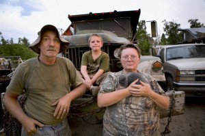 Richard and Gloria Shafer of Elgin, here with their then-9-year-old son, John, were so worried about drug violence when this August 2009 photo was taken after a triple-homicide near town that they were sleeping with handguns close by. Richard Shafer was killed by an Elgin police officer Aug. 1 during a domestic disturbance call at their home.