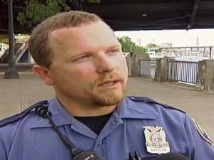 Portland Police officer Dane Reister