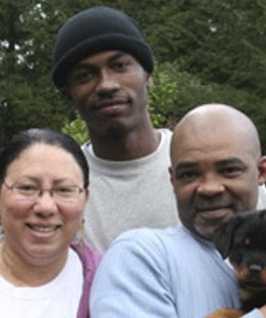 Keaton Otis with his parents