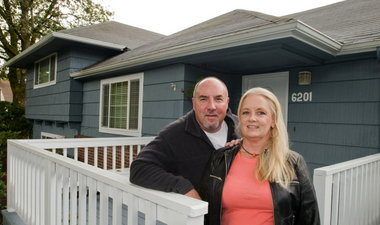 """Marcy and Steve Wambach, who lost their 27-year-old son, Tony, in April 2010 to suicide, purchased a house in Milwaukie about six doors down from their own and leased it to Oxford House, which provides housing to recovering alcohol and drug addicts. Their son had struggled with drug abuse but was successful when he stayed at Oxford Houses in Portland. """"We wanted to do something to commemorate him,"""" said his mother, Marcy Wambach. """"Somebody else's life may be improved, and that's good."""" (Brent Wojahn/The Oregonian)"""