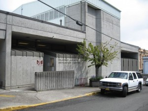 Clatsop County Jail at 636 Duane St. in Astoria