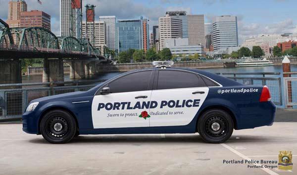 Portland police want video cameras in all patrol cars.  (Image: Portland Police Bureau)