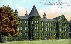 Western Washington State Hospital, about 1913