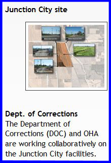 A fitting collaboration for a prison-like hospital.  (Image:  OSH Replacement Project website)