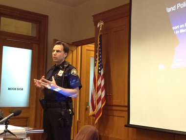 Portland Police Chief Mike Reese defends his bureau's record in coping with increasing number of suicidal subjects.