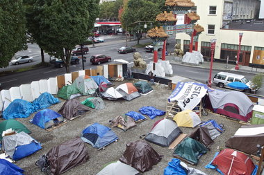 Because it was full, the Right2DreamToo tent area in Old Town turned away the two men who were later shot under the Morrison Bridge. The organization turns away an average of 20 people a night.