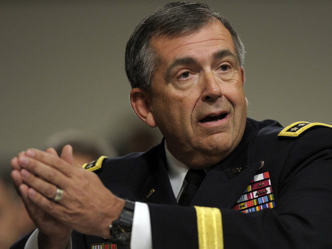 Gen. Peter Chiarelli, former vice chief of staff for the U.S. Army, says the Army lacks reliable diagnostic tools to screen for mental health.