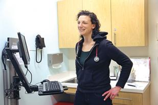 Dr. Rachel Solotaroff helps lead Central City Concern's integrated medicine strategy.