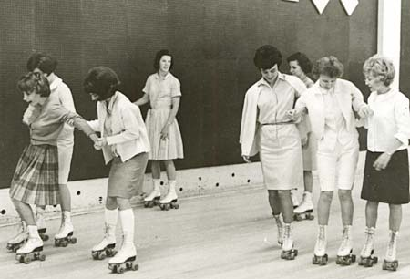 Oregon State Hospital Roller Skating - 1962