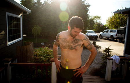 Chris Pin used heroin daily for six years, but waited until the day before he entered detox to first shoot himself up with the drug.