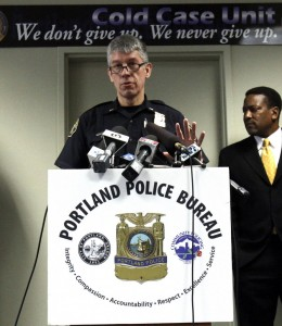 Portland Police Lt. Robert King
