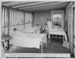 Morningside Hospital cared for Alaskan children with tuberculosis.