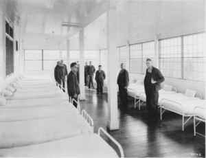 Morningside Hospital patient ward, about 1935