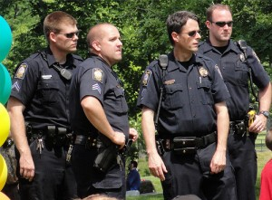 Portland police officers