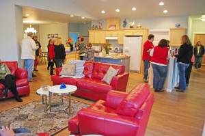 "An open house at ColumbiaCare's ""Bell Cove"" residence."