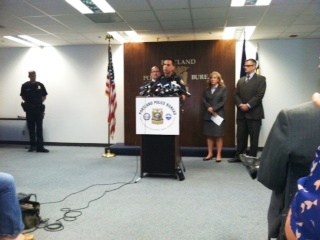 Portland Police Chief Mike Reese defended the bureau when the Department of Justice report was released