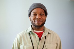 Peer support counselor Akil Stigler