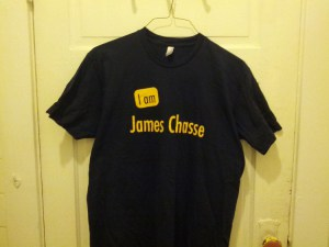 James Chasse T-shirt