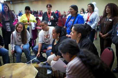 NARA drum circle
