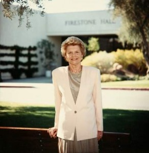 Betty Ford, the former first lady, launched the center in 1982 and was involved in daily operations until 2005, serving as the center's founding chairwoman until her death in July.