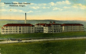 Eastern Oregon State Hospital in Pendleton, 1915