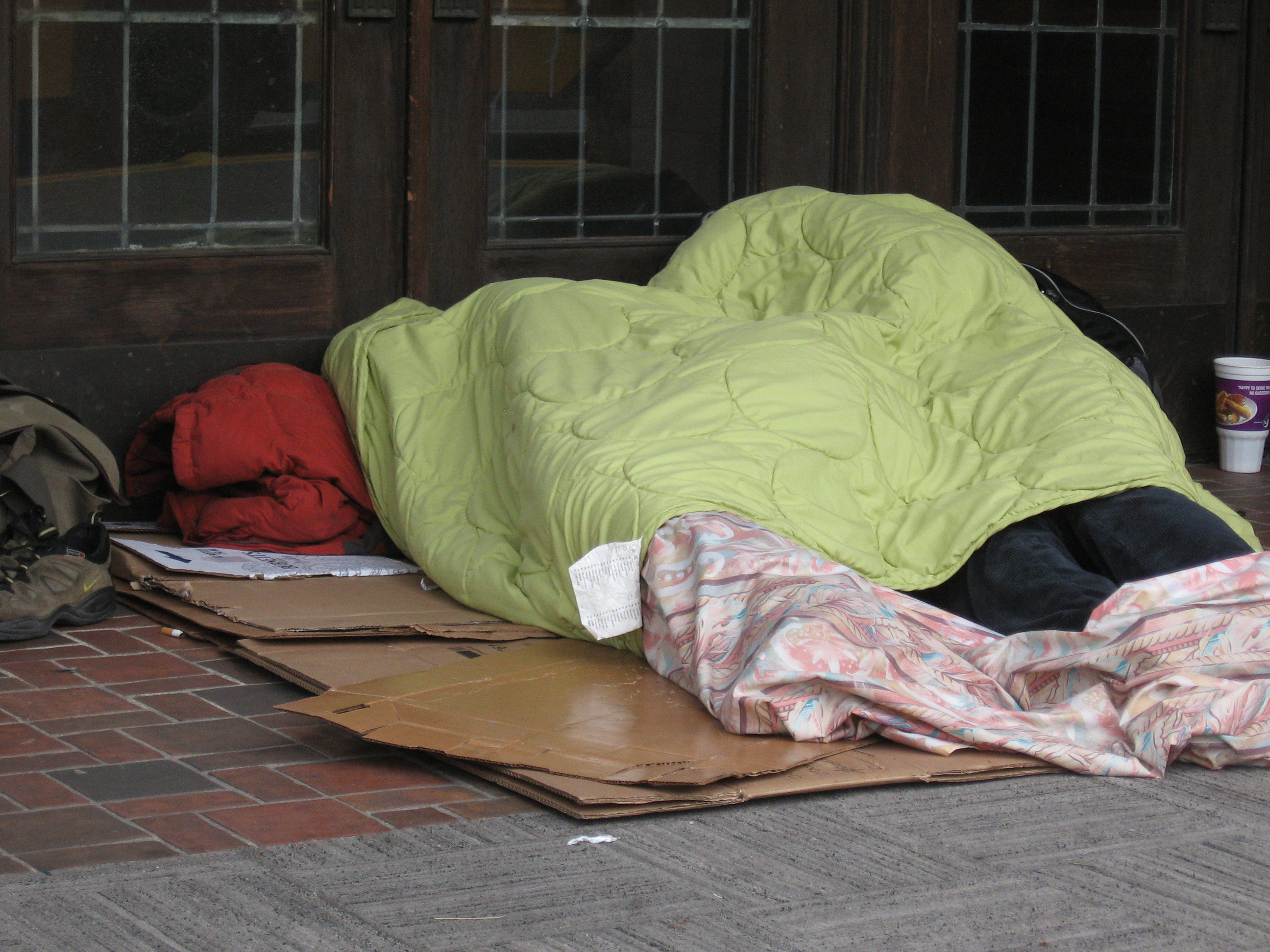 Homeless population has moved into Fairview, Wood Village