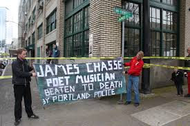 James Chasse sign