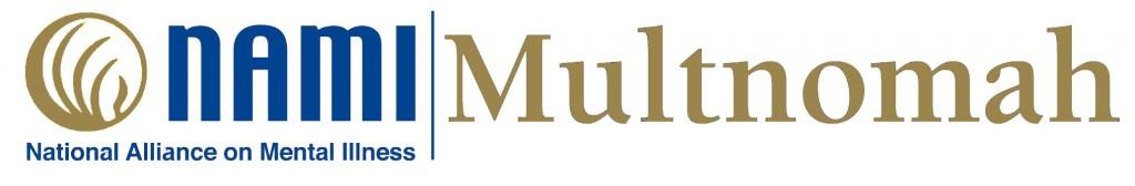 NAMI Multnomah blue and gold logo