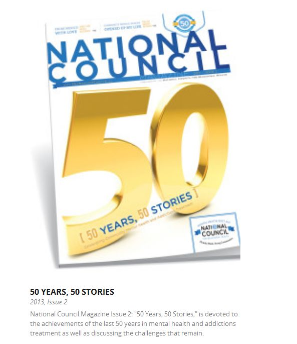 National Council Magazine cover screenshot