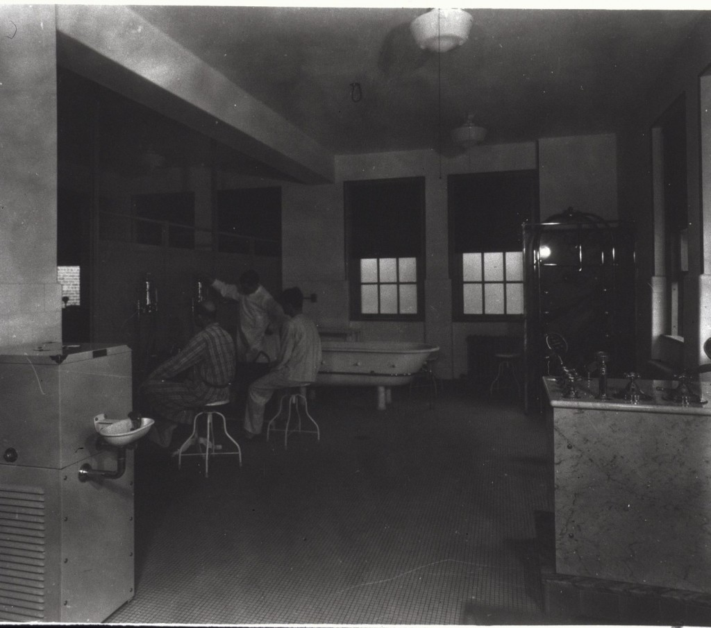 Hydrotherapy Department, New Orleans Marine Hospital