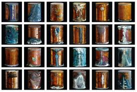 Cremains were stored in canisters.