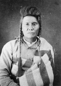 Chief Joseph, after his capture in 1877