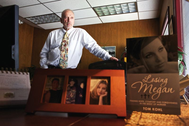 Drug Court Judge Tom Kohl wrote a book about grief and faith, after his daughter, Megan, a drug addict, was murdered in July 2006.