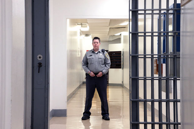 Oregon State Penitentiary Corrections Officer Laura Hinkle