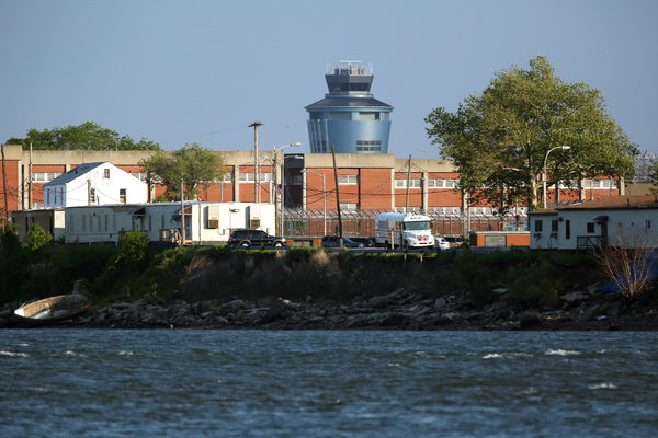 Rikers Island, the second-largest prison in the U.S.  Of 11,000 inmates, 4,000 have a mental illness