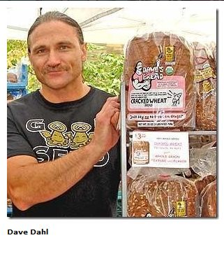In better days, Dahl showed off his Killer Bread