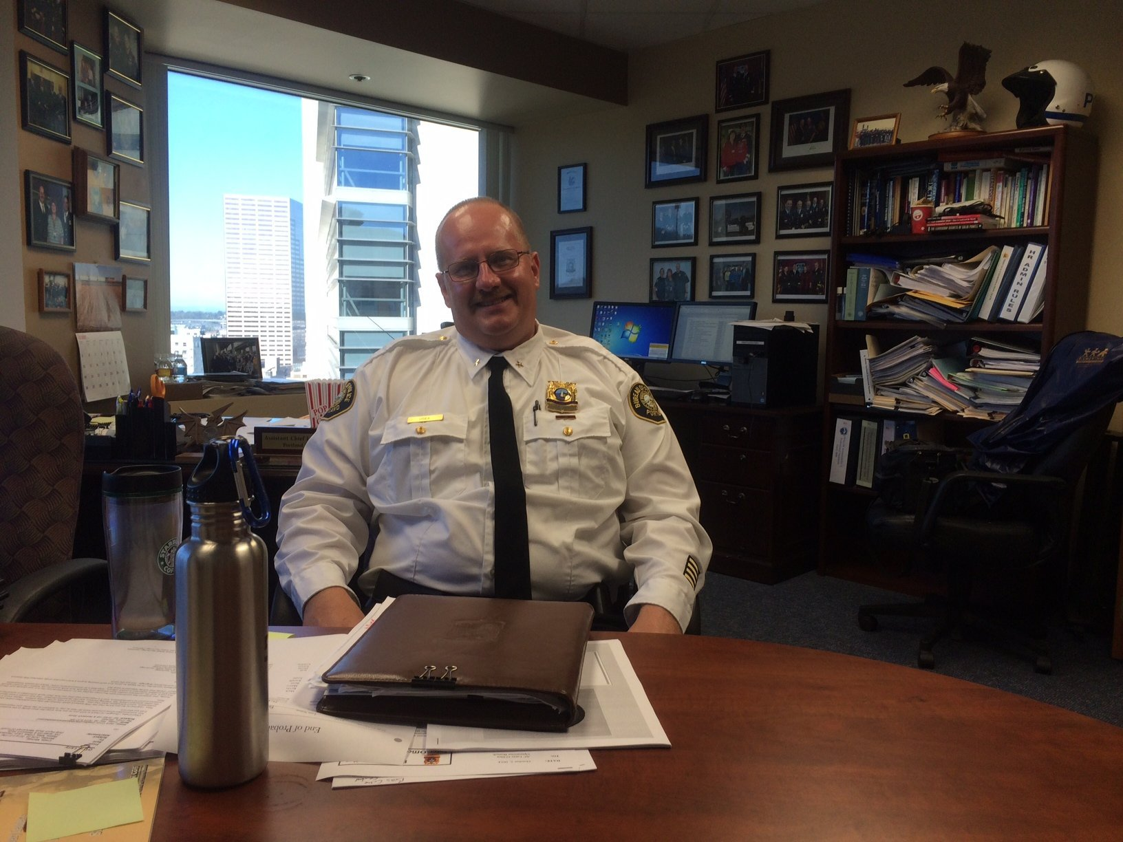 Police Chief-to-be Larry O'Dea