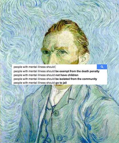 Artist Vincent Van Gogh, who had bipolar disorder