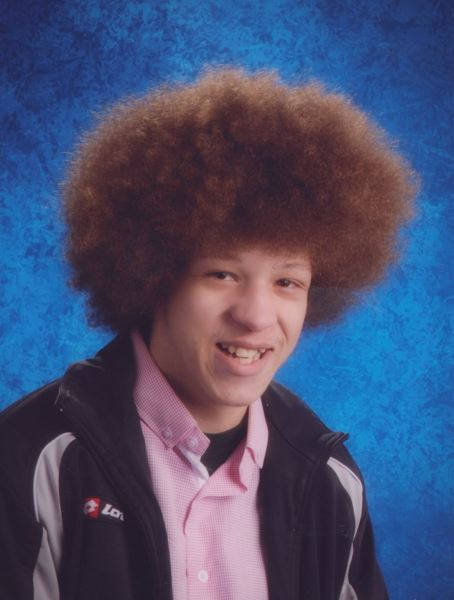 Chris Kalonji's senior photo, 2014